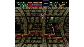 One of several levels that make use of the SNES' 3D-Chip.