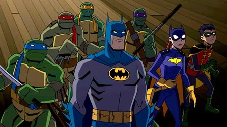 Batman vs. Teenage Mutant Ninja Turtles - Blu-ray-Trailer zum animierten Comic-Crossover