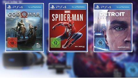 God of War, Spider-Man und Detroit: Become Human - PS4-Angebote der Cyber Week