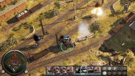 Iron Harvest - Mechkampf-Gameplay aus der neuen Alpha 1