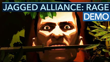 Jagged Alliance: Rage - Vorschau-Video: So funktionieren Schleich-Gameplay & Wut