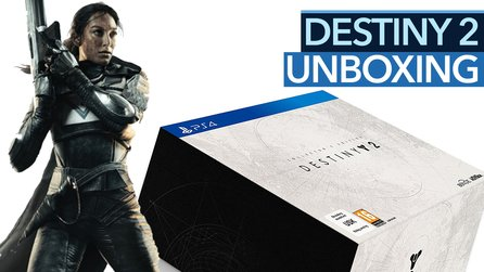 Unboxing Destiny 2 - Wo sind Spiel und Season Pass in der Collector's Edition?
