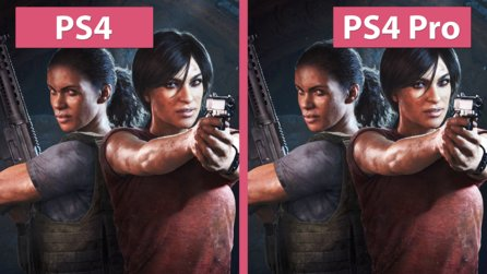 Uncharted The Lost Legacy - PS4 gegen PS4 Pro: Grafik-Vergleich und Frame-Rate Test