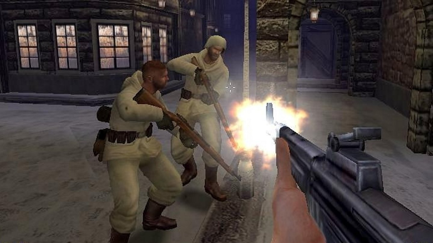 2002: Medal of Honor Allied AssaultId Tech 3