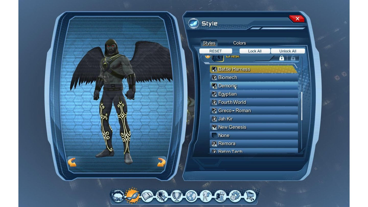 DC Universe OnlinePC-Screenshots aus der Testversion