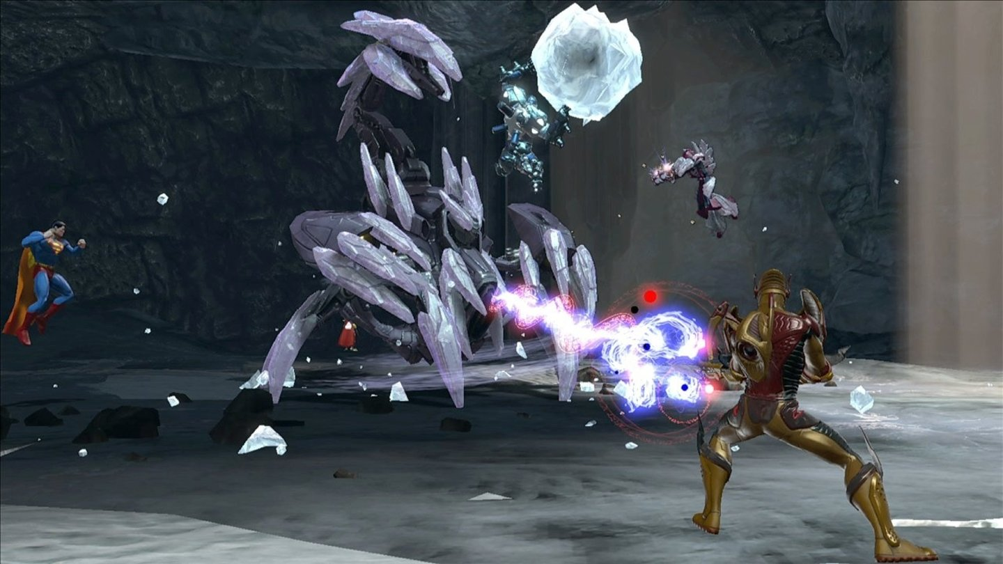 DC Universe OnlineScreenshots zum Content-Update #4: The Fortress of Solitude.