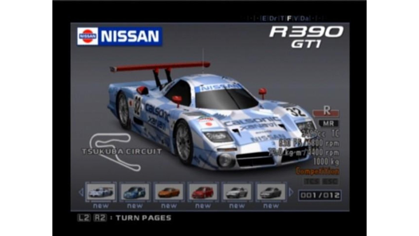 For fast racing tracks you might wanna pick fast racing cars