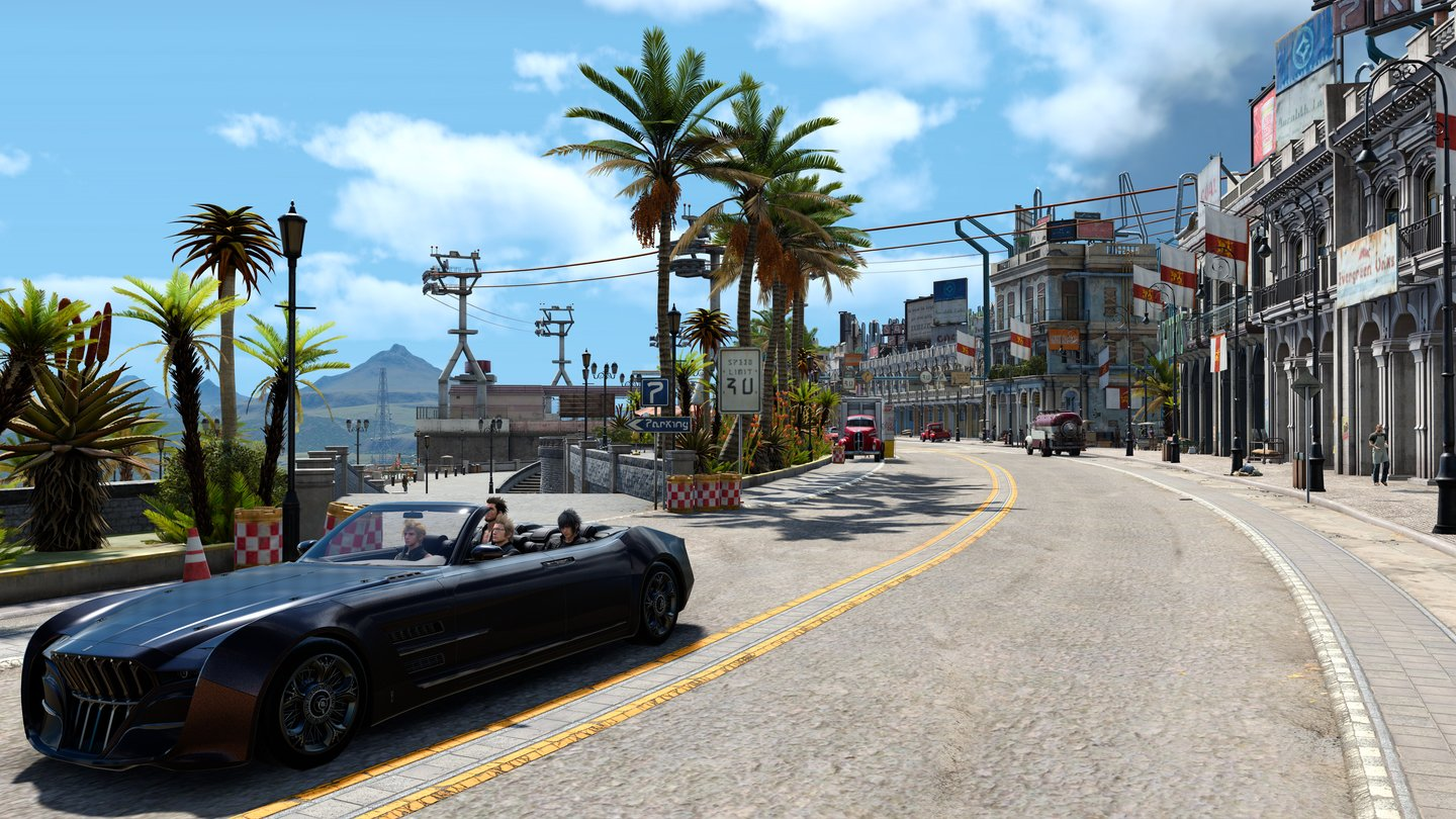 Final Fantasy 15 - Screenshots der PC-Version