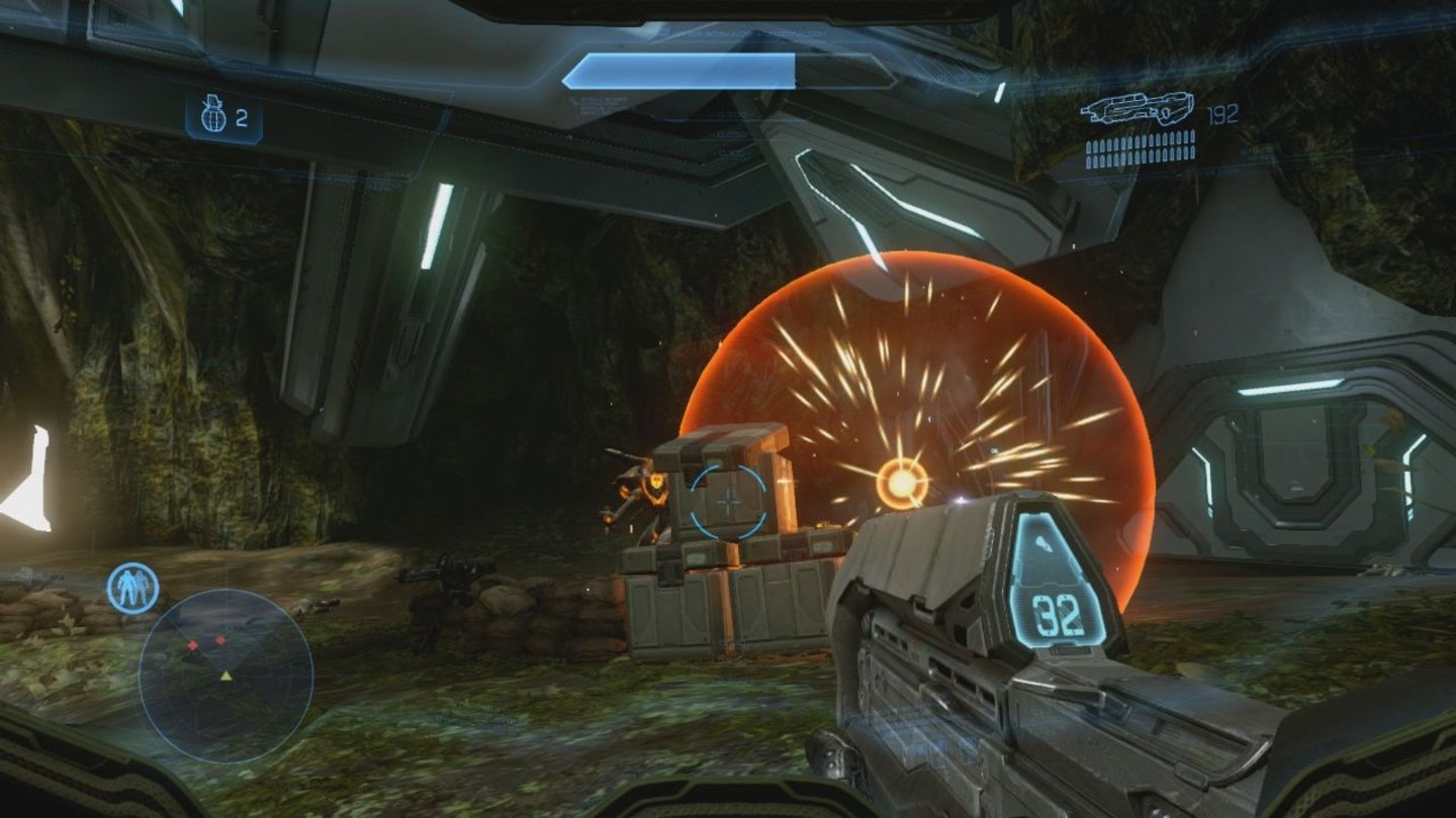 Halo 4Screenshots von der Xbox-360-Test-Version.