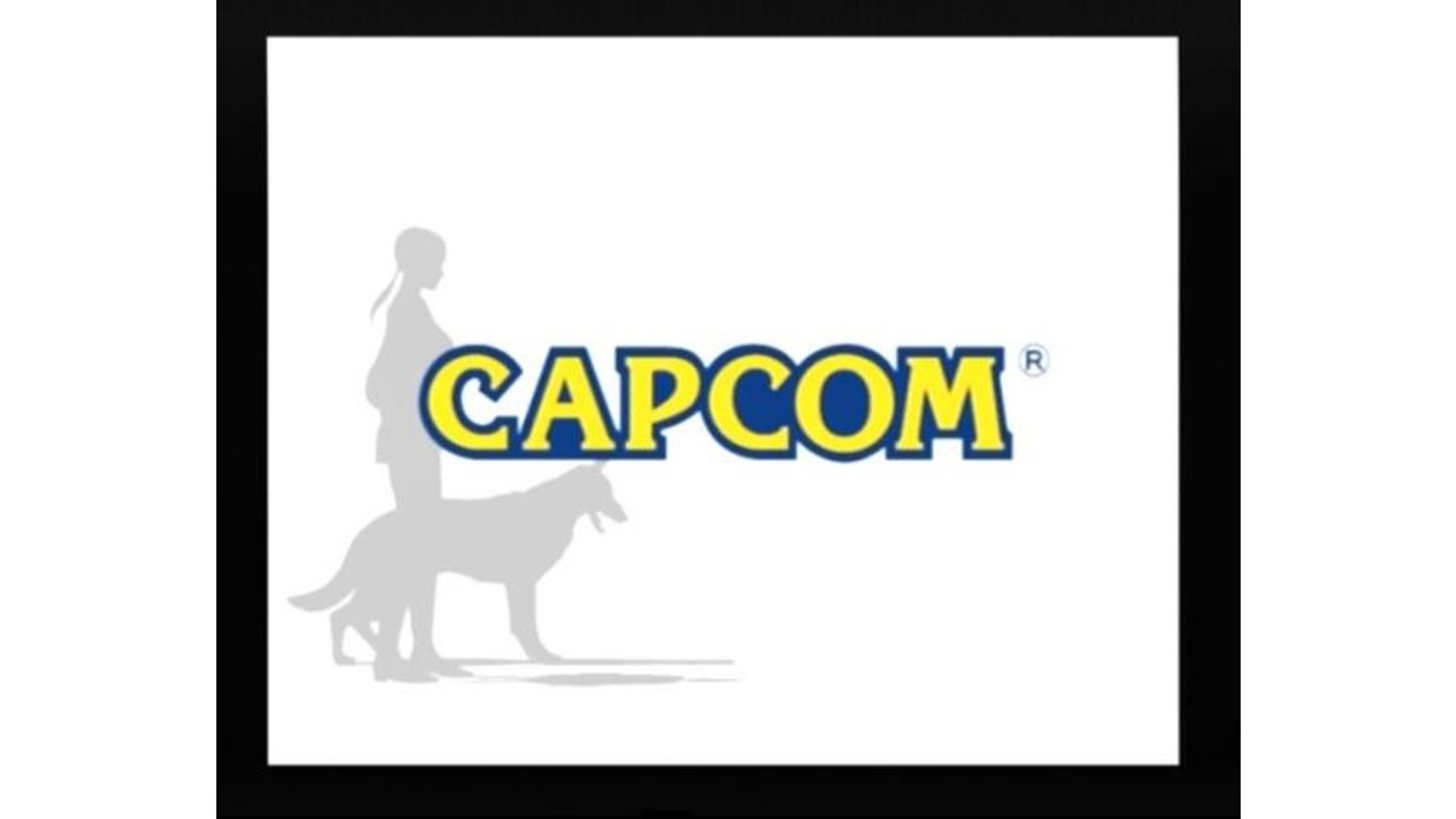 Capcom logo (with animated Fiona and Howie in the background)