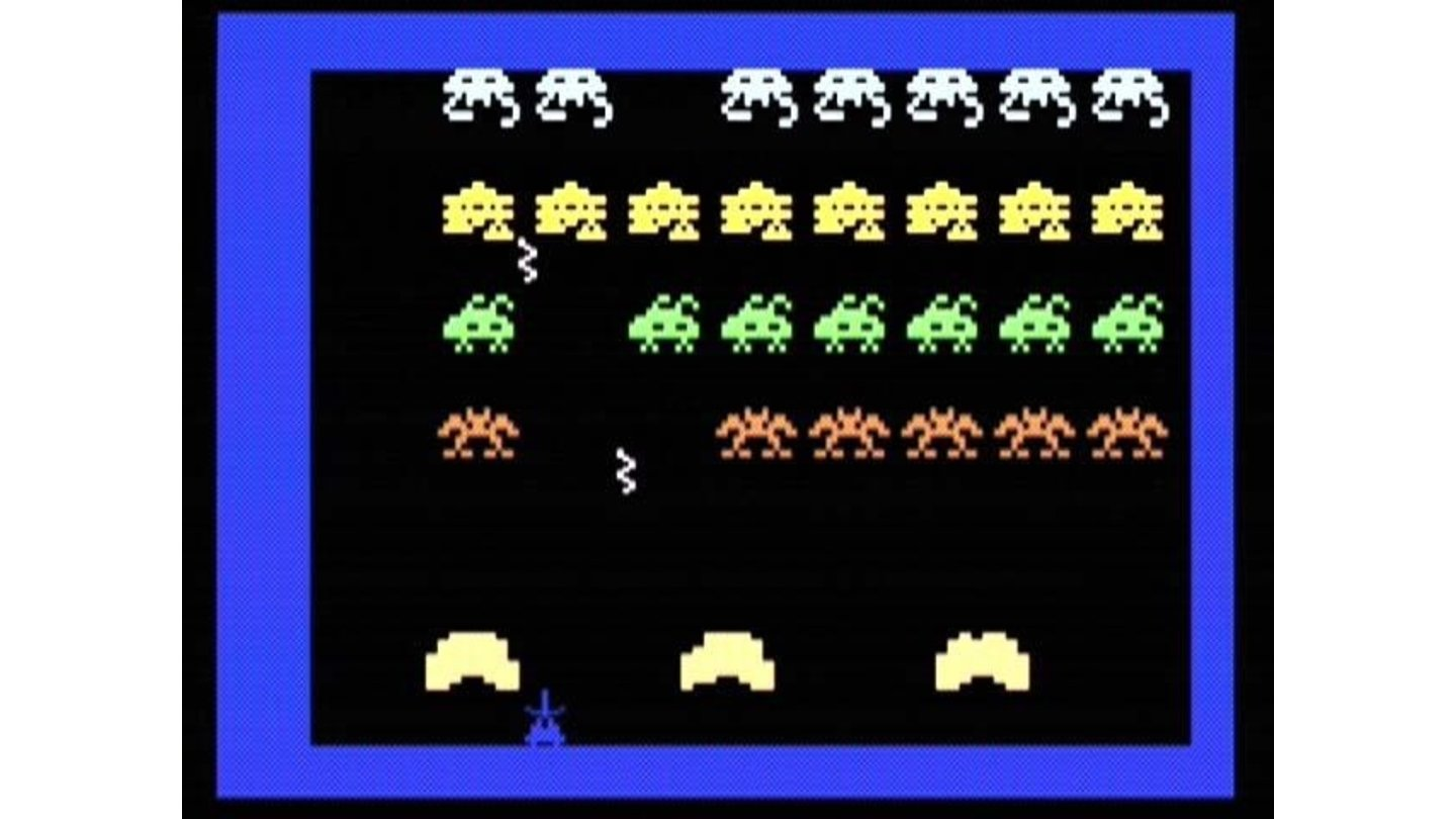 Space Armada, basically a version of Space Invaders.