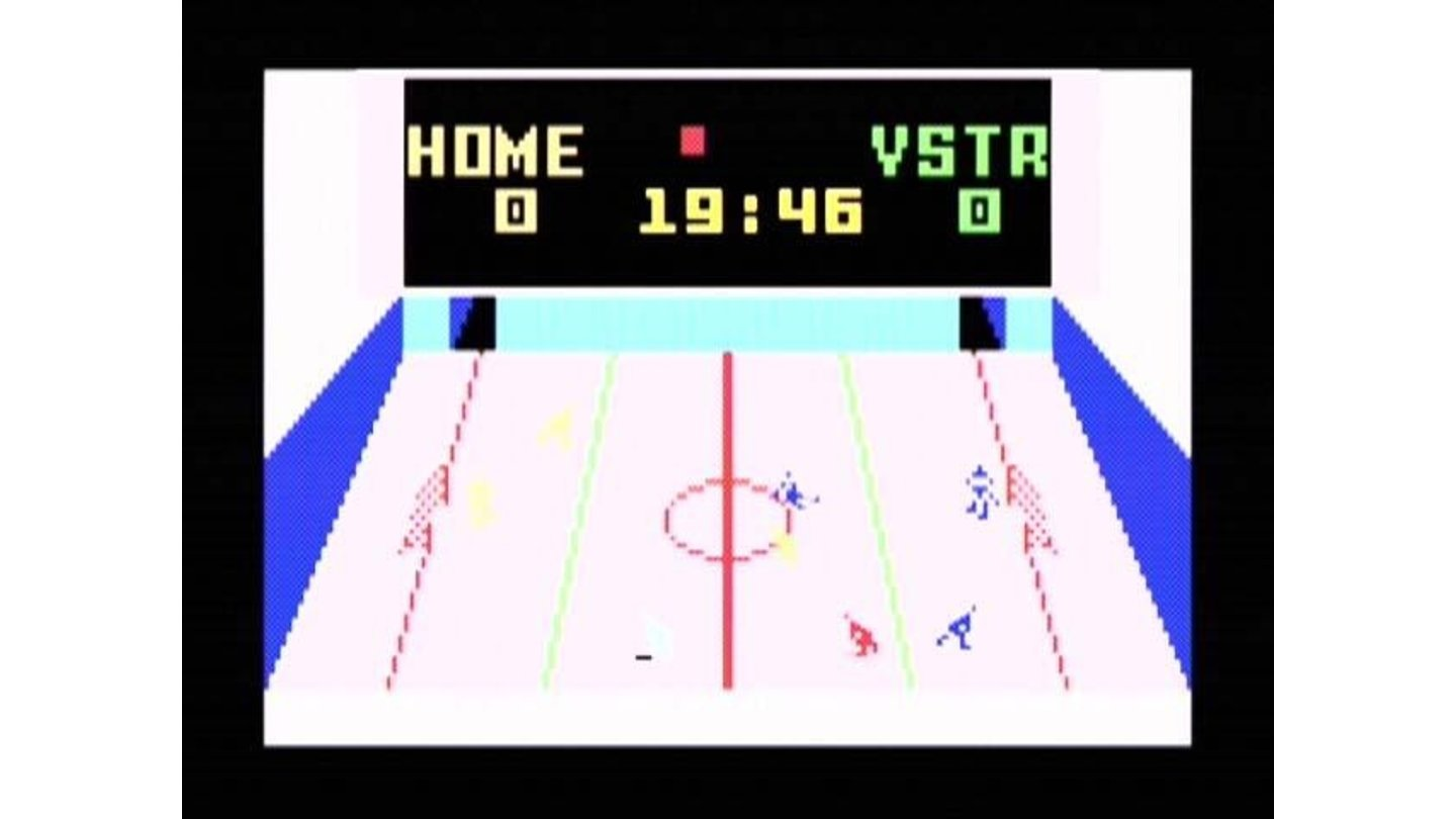 Slap Shot Hockey, my favorite sport title from back then.