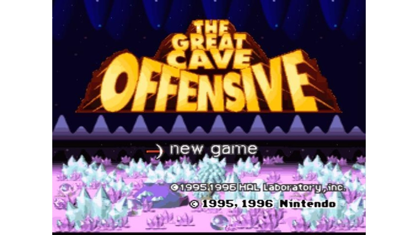 The Cave Offensive, a game with many hidden treasures and secret levels