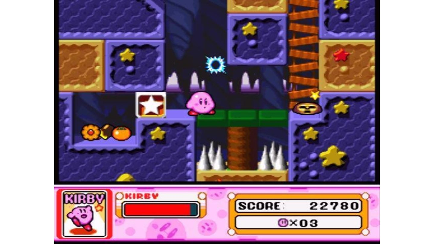 A dangerous level with spikes