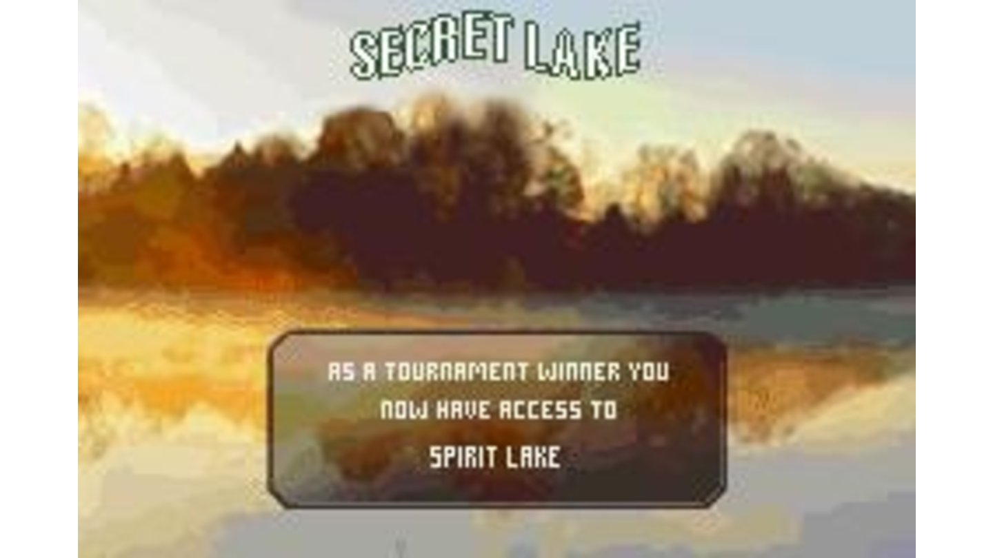 Secret lakes for winning tournaments? Cool.