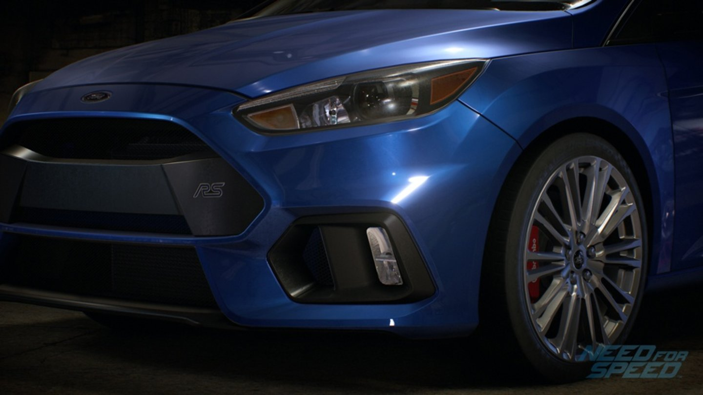 Need for Speed - Screenshots der Fahrzeuge - FORD FOCUS RS