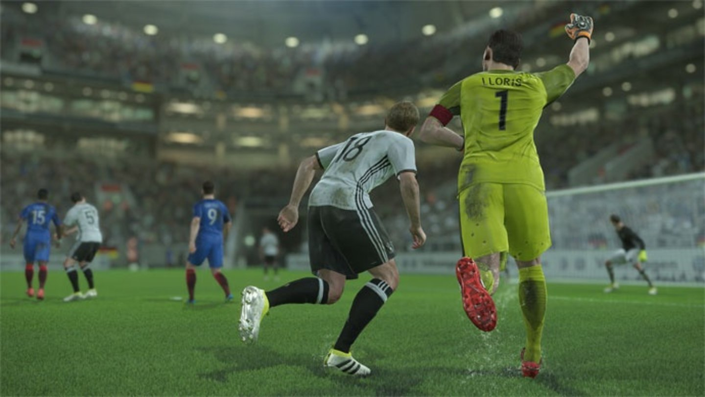 Pro Evolution Soccer 2017 - Screenshot