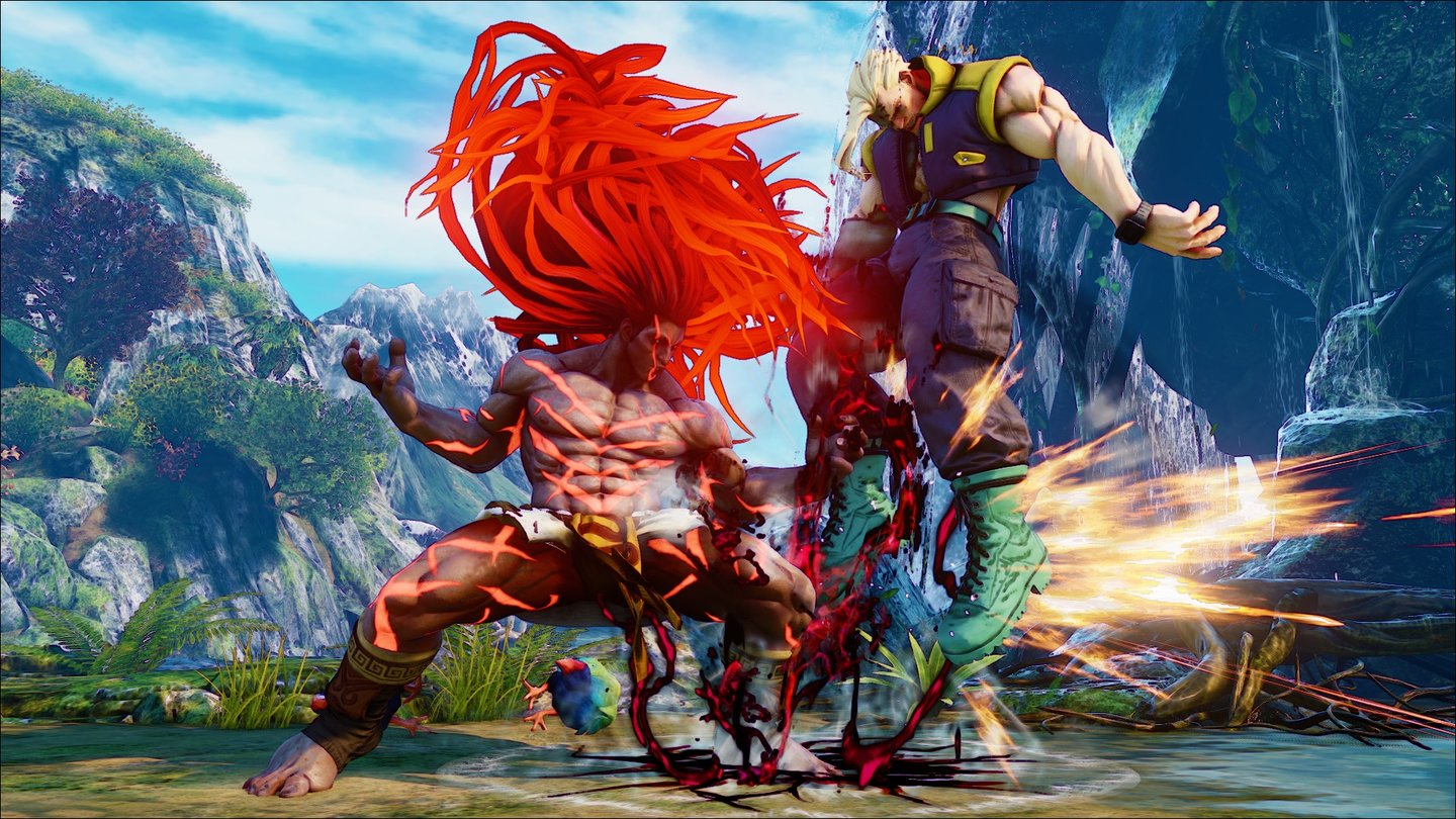 Street Fighter 5Screenshots vom neuen Charakter Necalli
