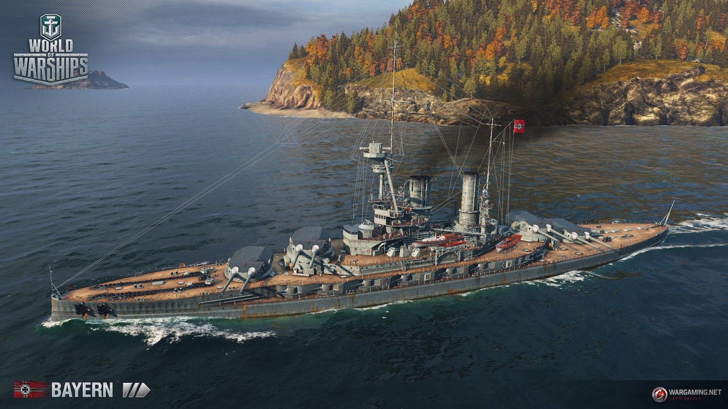 World of Warships - Deutsche Schlachtschiffe