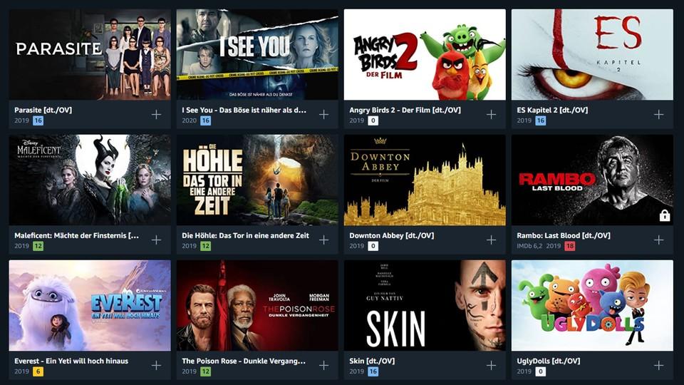 Amazon Aktuelle Filme