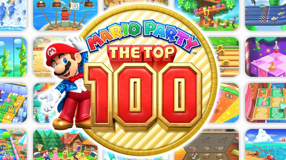 Mario Party: The Top 100 im Test für Nintendo 3DS.
