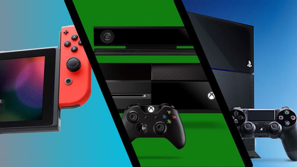 PS4, Nintendo Switch & Xbox One