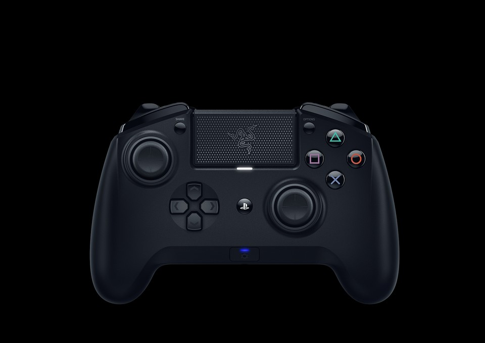 Der PS4-Controller Razer Raiju Tournament Edition.