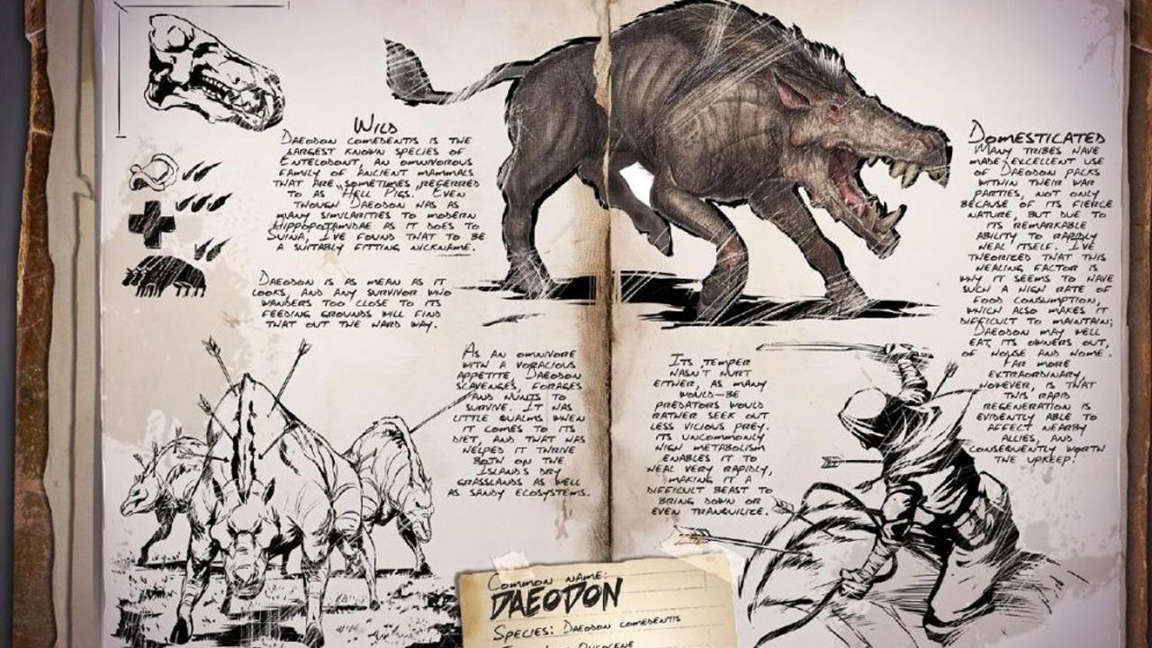 """Ark: Survival Evolved - Update v257 bringt Höllenschwein """"Daeodon"""", Tek-Strukturen mehr"""