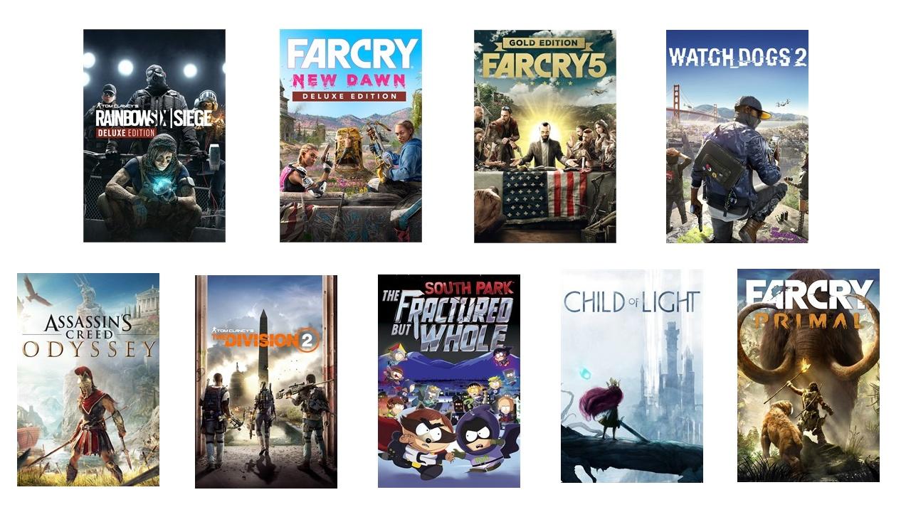 Microsoft Store – Ubisoft Sale mit bis zu 80% Rabatt gestartet