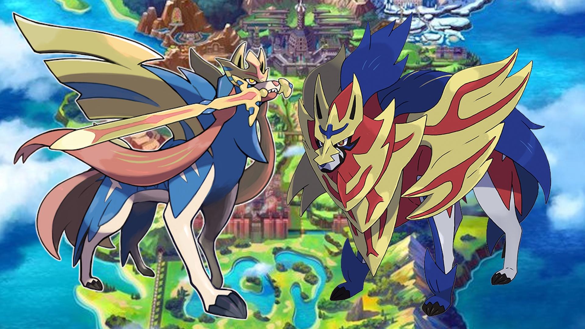 Pokemon Schwert Und Schild Legendäre