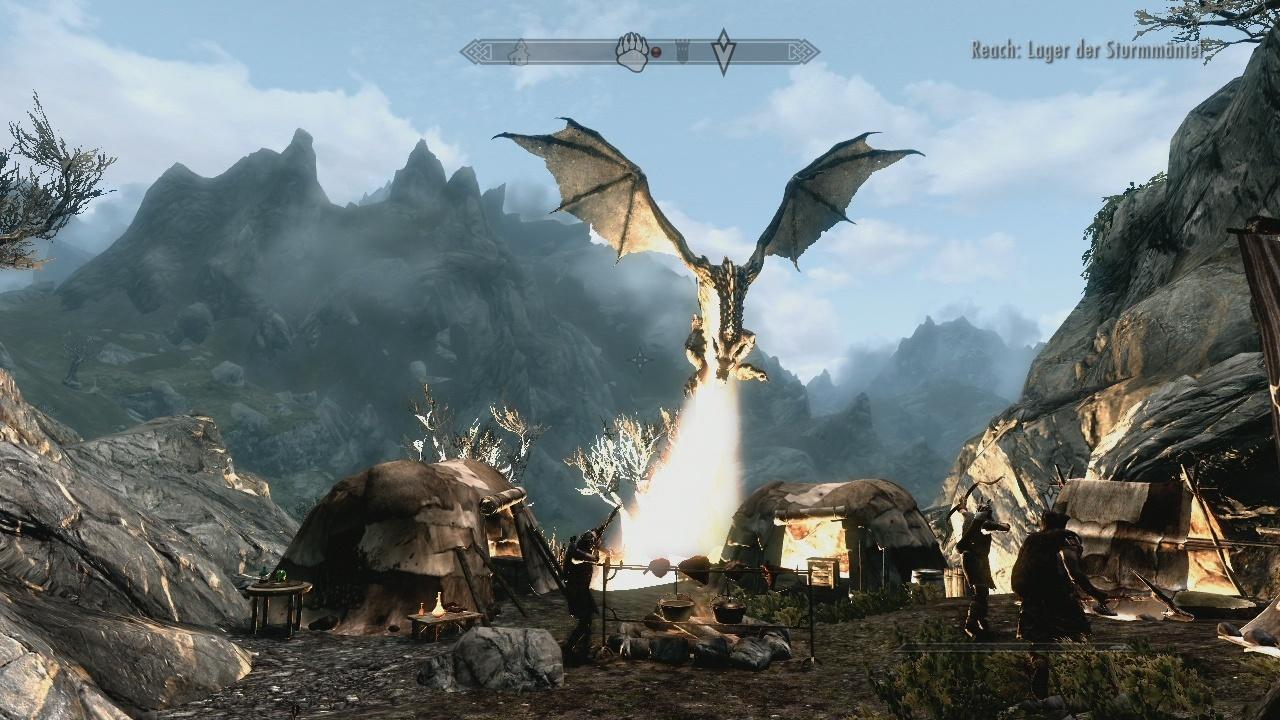 The Elder Scrolls 5: Skyrim im Test - Winterwunderwelt - GamePro